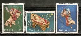 IT242 - ITALIA - Sassone 1189/91 ** - Natale 72 - 1971-80:  Nuovi