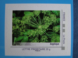 2011_06. Collector Poitou 2011. Angélique. Adhésif Neuf Avec Bord [fleur Flower] - Collectors