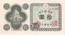Japan - Pick 87 - 10 Yen 1946 - AUnc - Giappone