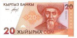 Kirgikistan 20 Som 1994 - Kirghizistan