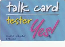 KENYA - KENCEL Promotion Prepaid Card, Exp.date 31/12/02, Used - Kenya