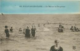 34 - PALAVAS-LES-FLOTS - La Mer Et Les Baigneurs - Palavas Les Flots