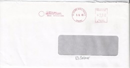 FRANCE. METER SLOGAN. REIMS. 1995 - Marcofilia (sobres)