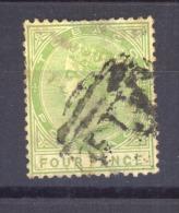 03487  -    Tobago  :   Yv   17  (o)  Filigrane CA - Trinidad & Tobago (...-1961)