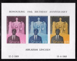 Ghana Scott    41a Souveneer Sht  Mint NH VF - Ghana (1957-...)