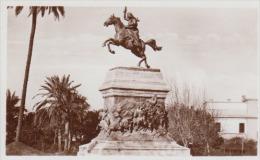 Italy - Roma - Monument Of Anita Garibaldi - Echte Photo 90 X 55 Mm - Monuments