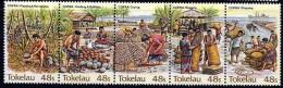 Tokelau Scott   103a-e Strip Of 5 Mint NH  VF  CV 3.00 - Tokelau