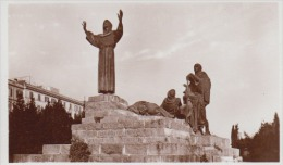 Italy - Roma - Monument Of St. Francis Of Assisi - Echte Photo 90 X 55 Mm - Monuments