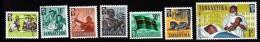 Tanganyika & Zanzibar Scott     5-12 Short Set  Mint NH   VF  CV 1.35 - Kenya, Uganda & Tanganyika