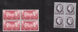 Ross Dependency (NZ) Scott     L2,L4 Blks Of 4 Mint NH VF  CV 12.00 - Ross Dependency (New Zealand)