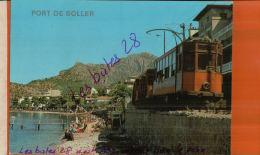 CPSM  ILES BALEARES  MALLORCA  Port De SOLLER  TRAMWAY   DEC  2015  531 - Treni