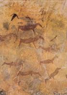 Lesotho Africa Afrique - Bushmen Paintings At Ha Khotso - Arts Art - Unused - 2 Scans - Lesotho