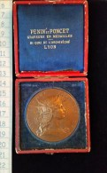 "Medaille Bronze, ""Concours De Tir"" Vers 1900 - Francia"