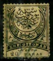 Turquie Y&T N° 25 Oblitéré Taxe - 1921-... République