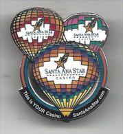 Santa Ana Star Casino - Colorful Pin with Hot Air Baloons - Santa Ana Pueblo, NM