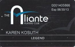 Aliante Casino Las Vegas - Highest Level -> Legend Players Club Card - Casino Cards