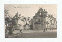 Cp , 90 , BELFORT , La Préfecture , Animée , Cycliste , Voyagée 1907 , N° 125 - Belfort - Città