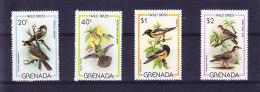GRENADA 1980 SG 1060/3 ** MNH + MS 1064 ** MNH .  (5R76) - Moineaux