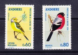 ANDORRE FRANCAIS Y&T 240/1 ** MNH .  (5R79) - Moineaux