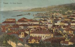 CARTOLINA: TRIESTE - IL PORTO VECCHIO - VIAGGIATA - F/P - COLORI -LEGGI - Trieste