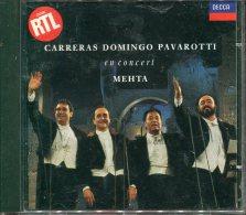 Cd Carreas Domingo Pavarotti En Concert Mehta - Opéra & Opérette