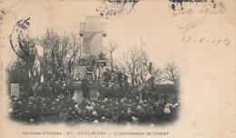 45 - COULMIERS - Loiret - L'Anniversaire Du Combat Au Monument De Coulmiers - Coulmiers