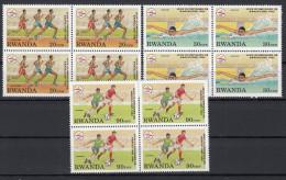 Rwanda - 1396/1398 - Bloc De 4 - JO Barcelone - 1993 - MNH - Rare ! - 1990-99: Ungebraucht