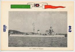 MARINA MILITARE ITALIANA - REGIO INCROCIATORE ALBERTO DI GIUSSANO - Guerra