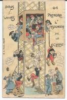 MILITARIA  -  Illustrateur  - L'Ascenseur De La Classe - Sin Clasificación