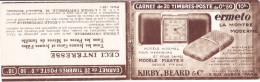 16130# CARNET VIDE S 199 ERMETO LA MONTRE MODERNE ECOLE UNIVERSELLE MOVADO HORLOGERIE - Carnets