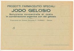 PALERMO PRODOTTI FARMACEUTICI SPECIALI JODO GELOSIO - TRINGALI - Palermo