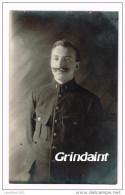 CARTE PHOTO CAMP DE PRISONNIER 14-18 DE GUSTROW ALLEMAGNE 8 MAI 1918 - Güstrow