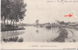 Digoin - Canal Latéral à La Loire - 1903 - Digoin