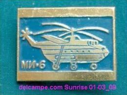 "Soviet Helicopter ""Mi-6"" / Soviet Badge 01-03_1037_09 - Luchtballons"