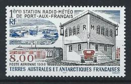 "TAAF Aerien YT 147 (PA) "" Station Radio-météo "" 1997 Neuf** - Poste Aérienne"