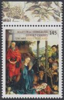!a! GERMANY 2015 Mi. 3184 MNH SINGLE W/ Top Margin (c) - Treasuries From German Museums - BRD