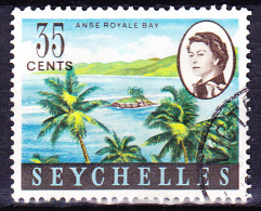 Seychellen - Anse Royale (Mi.Nr. 200) 1962 - Gest. Used Obl. - Seychelles (...-1976)