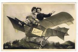 Avion  Photo_montage    Carte  Sirius  1911 - ....-1914: Precursores