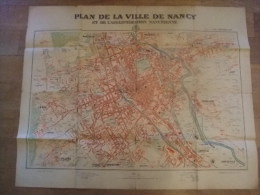 Plan De La Ville De NANCY édité Par L'Est Républicain - Autres Collections