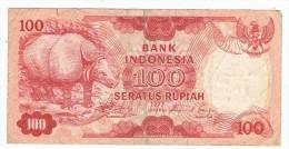 Billet   100   Seratus Rupian  1977 - Indonésie