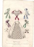 Gravure De Mode Du Journal De Modes Le Follet Janvier 1861 C Thierry - Prints & Engravings