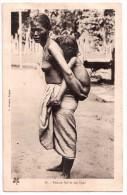 Femme Moï Et Son Ngno - Nu Nude - édit. L. Crespin 88 + Verso - Vietnam