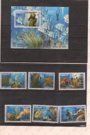 Cuba Año 2010 Hb+sellos - Fische