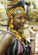 1 AK Republic du Tchad  Tschad * junge Frau aus dem Tschad * IRIS Card *