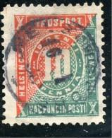 FINLANDE - FINLAND - SUOMI - POSTE LOCALE - 1870  HELSINGFORS -  1 TIMBRE OBLITERE - Finland