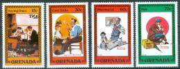 Grenada 1982 Norman Rockwell MNH** - Lot. 4459 - Grenade (1974-...)