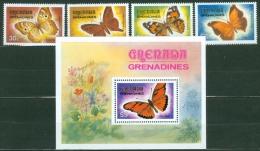 Grenada & Grenadines1982 Butterflies MNH** - Lot. A20 - Grenade (1974-...)
