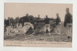 ARTILLERIE - Le 155 Court (Mod.1890 Sur Affût Plate-forme) La Charge - Guerre 14-18 - 1914-18