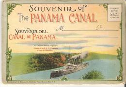 Souvenir Folder Of The Panama Canal  Souvenir Del Canal De Panama - Panama