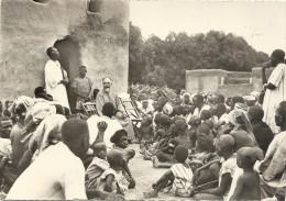 MGR  BRETAULT  EVEQUE DE  KOUDOUGOU    FAIT  SA  VISITE OASTORALE - Burkina Faso